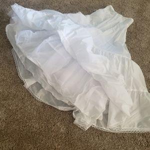White wedding petticoat 8